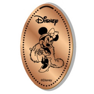 Disney Pressed Penny - Minnie Mouse - Diva with Boa