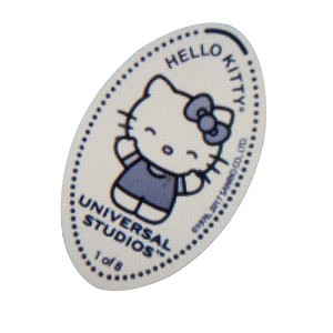 Universal Studios Pressed Penny - Hello Kitty