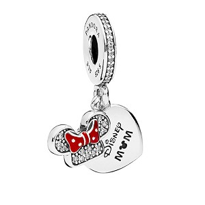 Disney PANDORA Charm - Minnie Mouse ''Disney Mom''