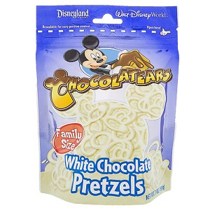 Disney Chocolatears - White Chocolate Pretzels - Bag