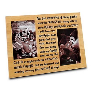 "Disney Picture Frame - First Memories - 4"" x 6"""