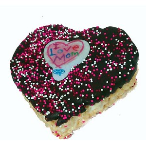 Disney Minnie's Bake Shop - Rice Crispy Mickey Treat - Love Mom