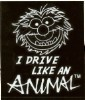 Disney Window Decal - The Muppets - Animal