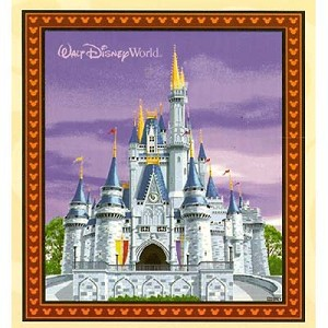 Disney Throw Blanket - Cinderella Castle