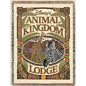 Disney Throw Blanket - Animal Kingdom Lodge