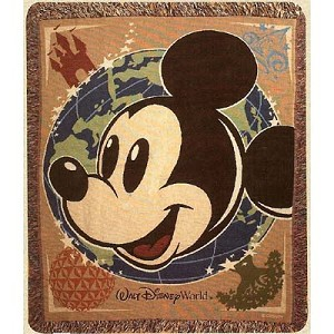 Disney Throw Blanket - Global Mickey