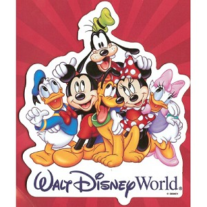 Disney Auto Magnet - Mickey Mouse and Pals