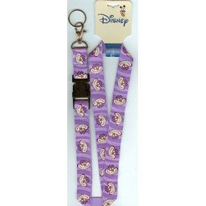 Disney Lanyard - Purple with Cheshire Cat