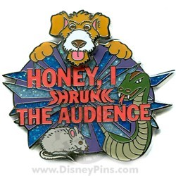 Disney Logo Pin - Honey I Shrunk the Audience