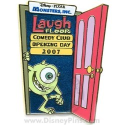 Disney Monsters, Inc. Laugh Floor Pin - Opening Day