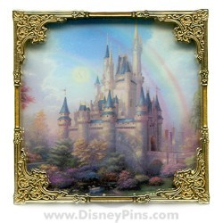 Disney Thomas Kinkade Pin - New Day at the Cinderella Castle