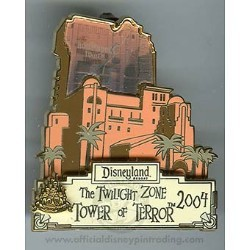 Disney Magical Milestones Pin - 2004 - Tower of Terror Opens