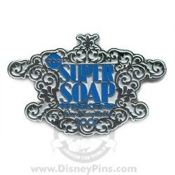 Disney Super Soap Weekend Pin - Logo