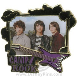 Disney Camp Rock Pin - The Jonas Brothers
