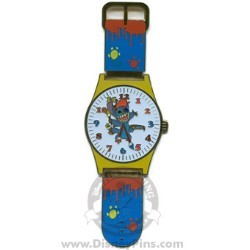 Disney Watches Pin - Stitch