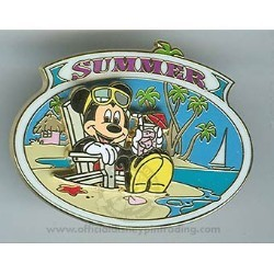 Disney Mickey Pin - The Four Seasons - Summer