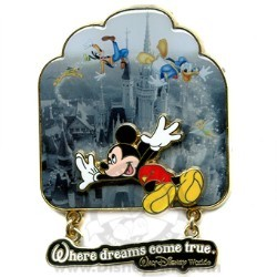Disney Mickey & Friends Pin - Where Dreams Come True
