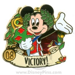 Disney Summer of Champions Pin - Victory - Mickey Mouse