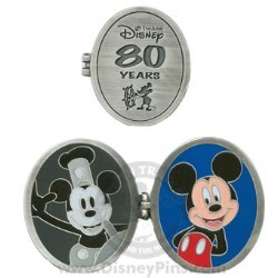 Disney Mickey Pin - 80th Anniversary