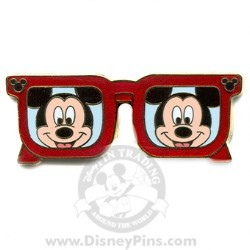 Disney Mickey Pin - Character Sunglasses