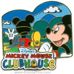 Disney Mickey Clubhouse Pin