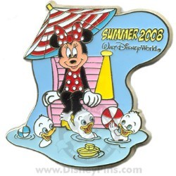 Disney Summer Pin - Lifeguard Minnie