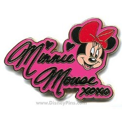 Disney Minnie Pin - Autograph