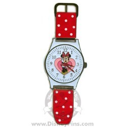 Disney Watches Pin - Minnie Mouse