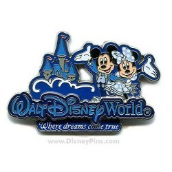 Disney Mickey & Minnie Pin - Where Dreams Come True