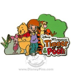 Disney Pooh Pin - My Friends