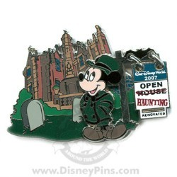 Disney The Haunted Mansion Pin - Re-Haunting - Mickey Mouse
