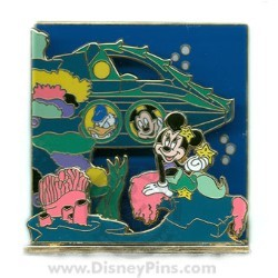 Disney 3D Series Pin - 20,000 Leagues Under The Sea