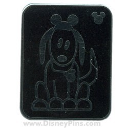 Disney Hidden Mickey Pin - Pets - Dog with Mouse Ears
