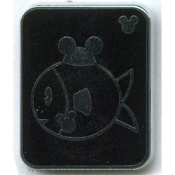 Disney Hidden Mickey Pin - Pets - Fish with Mouse Ears