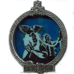 Disney White Glove Pin - Haunted Mansion - Opera Singer