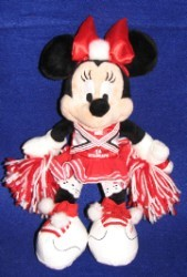 Disney Plush - Minnie Mouse - High School Musical Cheerleader