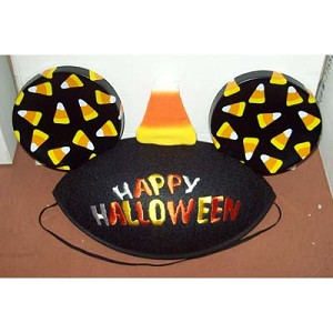Disney Hat - Mickey Mouse Ears Hat - Happy Halloween Candy Corn