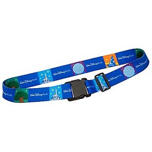 Disney Luggage Strap - Walt Disney World Icons
