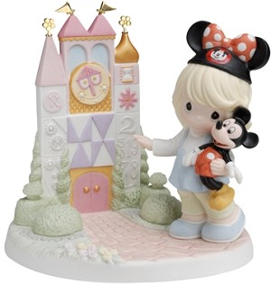 Disney Precious Moments Figurine - A Smile Means Friendship