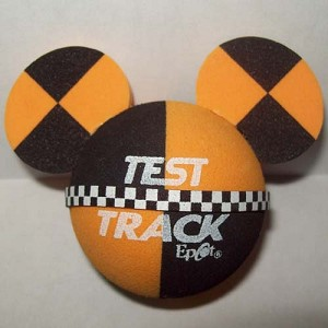 Disney Antenna Topper - Mickey Mouse Ears Test Track Logo