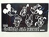 Disney Window Decal - The Gangs All Here