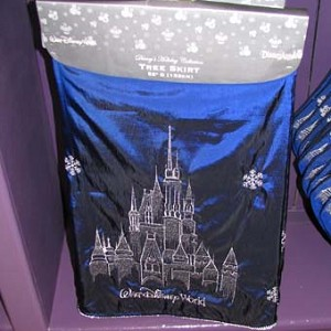 Disney Christmas Tree Skirt - Holiday Castle