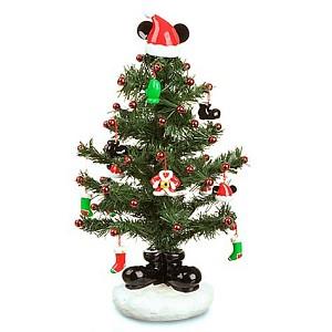 disney christmas tree miniature santa mickey tree with mailer - Santa Christmas Tree Topper