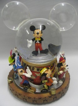 Disney Snow Globe Mickey Mouse Through The Years