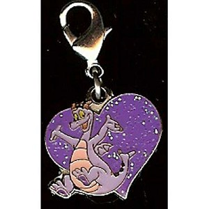 Disney Dangle Charm - Figment Heart