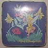 Disney Magic Towel - Tinkerbell with Flowers - Purple