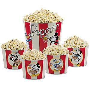 Disney Popcorn Bucket Set - Mickey Mouse