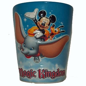 Disney World Shot Glass - Magic Kingdom