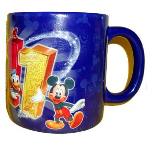 Disney Coffee Cup Mug - 2011 Mickey and Friends