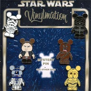 Disney Mystery Pin Set - Vinylmation Star Wars